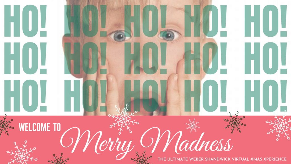 Merry Madness – Weihnachtsfeier COVID-Edition 2020